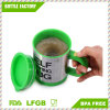 Stainless Steel Lazy Self Stirring Mug Auto Mixing Tea Coffee Mug