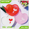 2017 Promotion Special Offer Cute Bento Box of Heart-Shaped Boxes of Love Loving Lunch Plastic Student Meals
