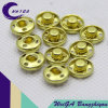 High Quality Metal Fastener Button Gold Color