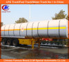 3 Axle 45000liters Carbon Steel Fuel Tanker Semi-Trailer
