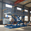 Hydraulic Single Deck Scissor Car Lifter with TUV