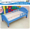 Wooden Kids Plastic Bed Kindergarten Single Bed Hc-2001