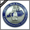 Custom 3D Zinc Alloy Challenge Coin in Silver Color (BYH-10461)