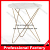 Round Marble Top Table Side Table End Table