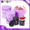 Premium-Grade Handmade Round Packaging Box for Flower