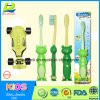 PP House Shape Children′s Soft Toothbrush