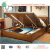 Storage Bed Lift up Storage Bed with Wooden Bed Base