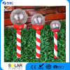 Solar Xmas Stake Crackle Ball