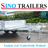 Manufacturer Supply Tandem Axle Box Trailer