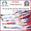 Competitive Price Dye Sub Lanyard China Supplier (KSD-857)