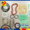 6D125 Excavator Engine Overhaul Gasket Kit New Type