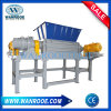 High Output Plastic Bag Tin Cans Metal Recycling Double Shaft Shredder