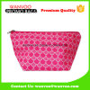 Dumpling Shape Pink Luxury Nylon Cosmetic Bag with Zipper