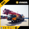 Gold Yellow Color Sany Truck Crane Stc250 with 4 Section Boom