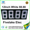 12inch LED Gas Price Changer Sign Display (NL-TT30F-3R-DM-4D-White)