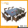 Popular Design Outdoor Garden Furniture UV-Resistant Rattan Chair Table Set