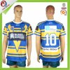 New Zealand Custom Digital Printing Stiped Rugby League Jerseys
