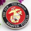 Custom United States Navy Semper Fidelis Souvenir Army Coin