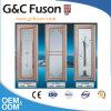 Ouya Series Luxury Gold Color Aluminum Casement Door