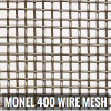 Manufacturer and Supplier of Monel 400 Wire Cloth in China
