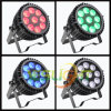 6in1 LED Flat PAR Light 19PCS*15W UV+RGBWA
