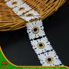 100% Cotton High Quality Embroidery Lace (HSS-1710)