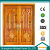 Manufacture Composite Wooden Door with Pine Skeleton and MDF Infilling