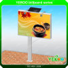 Solar Powered Customized Outdoor Advertising Double-Side Billboard