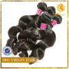 6A Grade 100% Virgin Unprocessed Peruvian Human Hair Extension Loose Wave Weft
