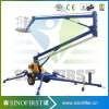 16m Light Weight Movable Hydraulic Spider Basket Lift Platform