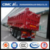 Cimc Huajun 3axle Heavy Duty Rear Dumping/Tipping Trailer