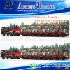 12 Line-Axle Hydraulic Steering Modular Trailer, Semi-Trailer