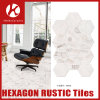 New Design Waterproof Mixed Color Hexagon Rustic Wall Tile with High Quality