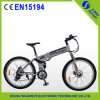 "36V 9ah Lithium Battery 26"" Folding Electric Mountain Bike"
