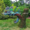 Outdoor Beautiful Grass Sculpture Chameleon