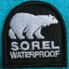 Fasion Custom Self-Adhesive Embroidery Patch