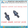 Round Shank Teeth Btk64 Coal Mining Bit/Trenching Picks