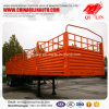 Side Fence Drop Semi Trailer for Bulk Cargo Transportation