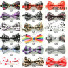 Fashion Ribbon Printed Bow Tie Neckt07