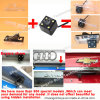 Mini Car Camera with 4 LED Lights Fit for Volkswagen 2011 Golf Polo Magotan Passat Cc