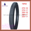 275-18, 275-17, 250-18, 250-17, 225-17 Long Life 6pr Nylon Motorcycle Tyre