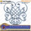 Application Gate Fence Design Cast Iron Flower Panel
