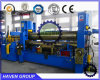 W11S-16X2500 Hydrulic upper roller Steel plate Bending and Rolling Machine