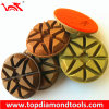Rigid Diamond Polishing Pads with Vecro for Wet or Dry Polishing Floor