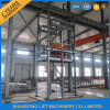 Warehouse Cargo Guide Rail Hydraulic Platform Lift