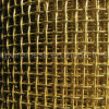Brass Wire Vibrating Screen Crimped Wire Mesh