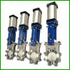 Full Lug Knife Gate Valve-Pneumatic Actuated Knife Gate Valve
