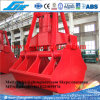 30t Four Wire Rope Clamshell Scissor Ship Grab