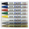 Thin Aluminum Barrel Permanent Marker with 1.0 mm Tip