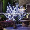 White Artificial LED Cherry Blossom Tree Beautiful Outdoor Lighting